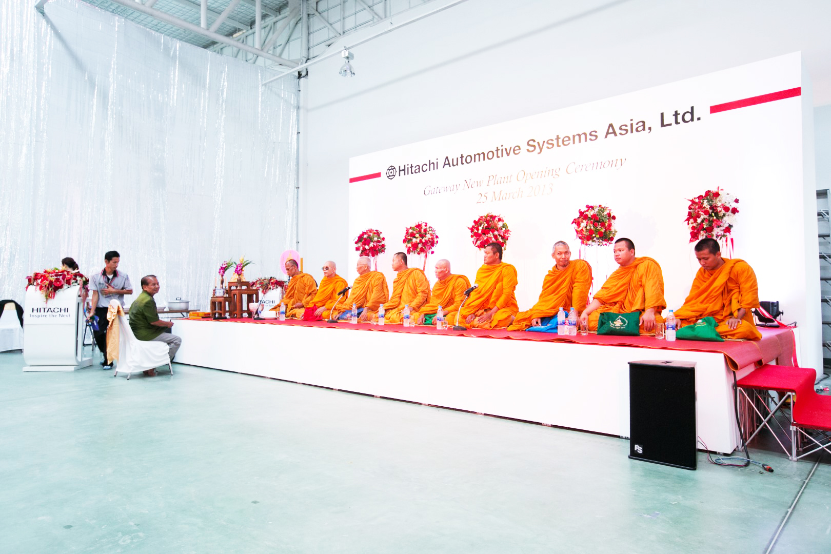 Opening Ceremony : Hitachi Automotive Systems