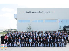 Opening Ceremony: Hitachi Automotive Systems Asia, Gateway No.2 Plant