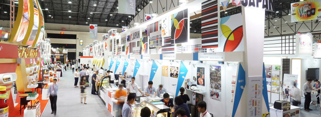 Japan pavilion for Thaifex2016